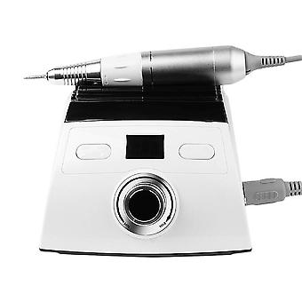 Professional Electric Nail Drill Replacement Drill Equipment Tools|Electric Manicure Drills(White)