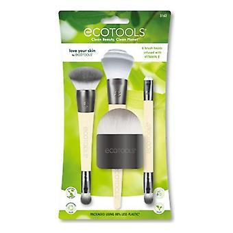 Set of Make-up Brushes Love Your Skin Ecotools (4 pcs)
