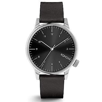 KOMONO Winston regal black - reloj unisex