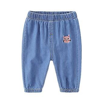 Baby Denim Mosquito Pants Boys Boys Babies Toddlers