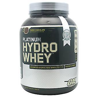 Optimum Nutrition PLATINUM HYDRO WHEY, Chocolate 3.5 lbs