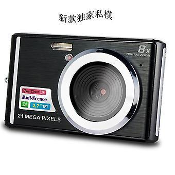 Cdc3 2,7-дюймовая цифровая камера tft hd экран 21mp cmos 5.0mp анти-тряска 1080p цифровая видеокамера с 8-кратным цифровым зумом