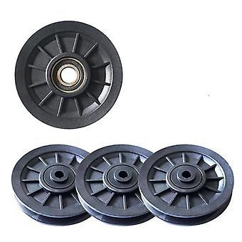 Durchmesser Wearproof Nylon Bearing Pulley Wheel Cable