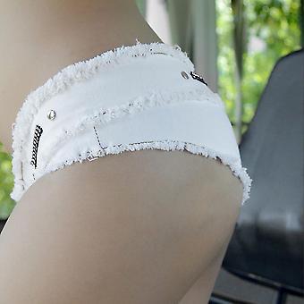 Meileiya Charming Design Summer Women Short Denim Pant Night Club Jean Pants