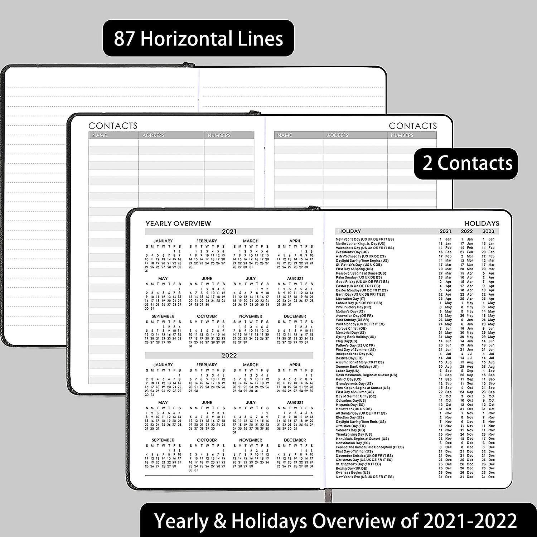 Akademisches Tagebuch 2021-2022 - A5 Wochen- und ...