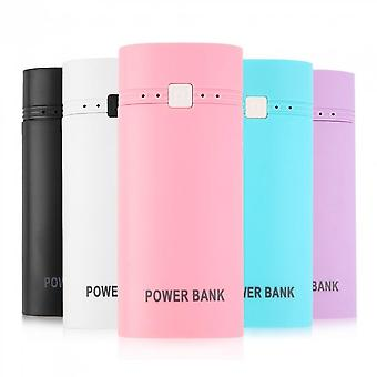 Portable Usb Power Bank Case Diy Kit 18650 Mobile Battery Cell Phone Charger