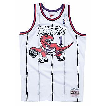 Mitchell & Ness Nba Toronto Raptors Tracy Mcgrady Swingman MNNBA353J336FGYTMCTORRAP koripallo koko vuoden miesten t-paita