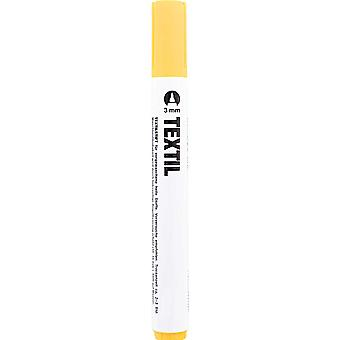 Yellow Fabric Marker for Light Fabrics - Textile Painting Pen