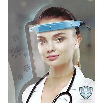 Vizor de protecție a feței, capac scut față completă din plastic