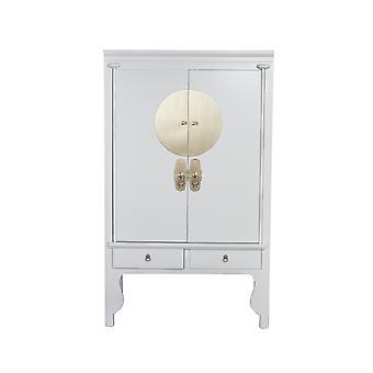 Fine Asianliving Kinesisk BryllupSkap Moonshine Greige - Orientique Samling W100xD55xH175cm