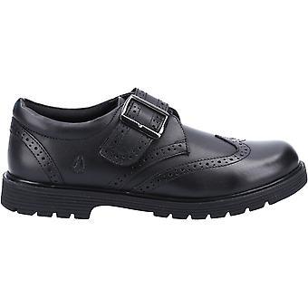 Hush Puppies Girls Rhiannon Leather School Shoes