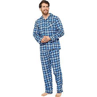 Walter Grange Miesten perinteinen tarkistaa puuvilla pyjama asettaa