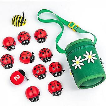 Counting Beetle Game Wooden