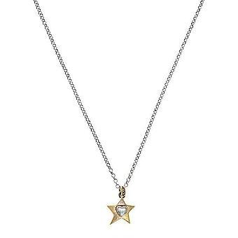 Guldstjärna hänge charm halsband