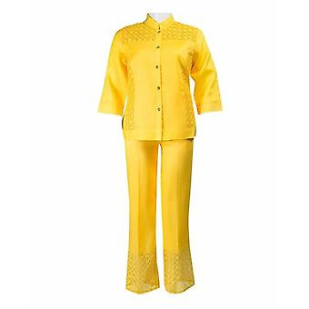 Lino  Pants Set