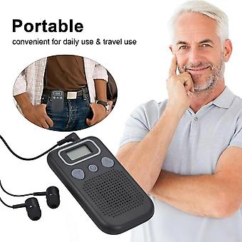 Hearing Aid With Battery-powered Loudspeaker, In-ear Device, Suitable For Adults And Senior Citizens