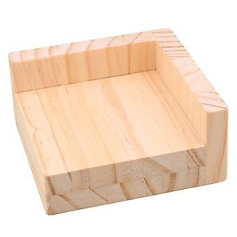 Furniture floor protectors wood furniture storage riser bed lifters 9.8x9.8cm feet 3cm lift height