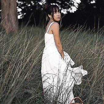 Daria Leinen Kleid | Weiß