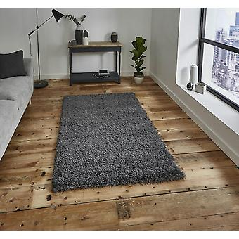 Vista - Plain 2236 Dark Grey  Rectangle Rugs Plain/Nearly Plain Rugs