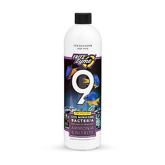 Fritz Aquatics 9 البكتيريا النترينغ لأحواض المياه المالحة - 16 oz