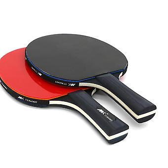 2 Stücke/Lot Tischtennis Fledermaus lang Griff Ping Pong Paddel