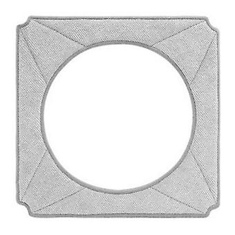 Ecovac cleaning pads for WINBOT X W-CC2A 2 pcs, grey