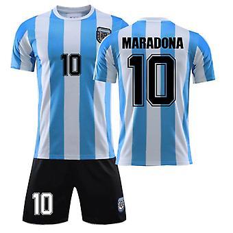 Maradona Jersey No. 10 Argentina Retro Ball King Suit