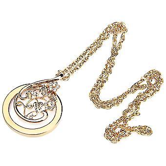 2x Jewelry Magnifier Flower Rhinestone Loupe  Necklace Sweater Chain
