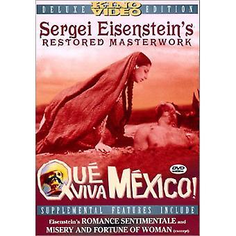 Que Viva Mexico [DVD] USA import