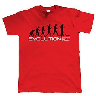 Evolution of RC, Mens Radio Control Buggy Car Racing T Shirt