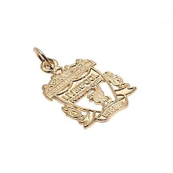 Liverpool 9ct Gold Pendant Crest