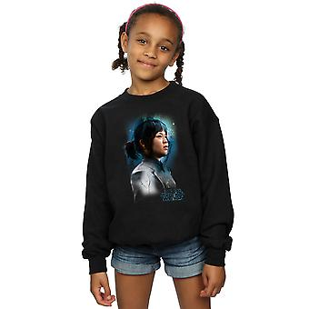 星球大战女孩最后的绝地玫瑰蒂科刷汗衫