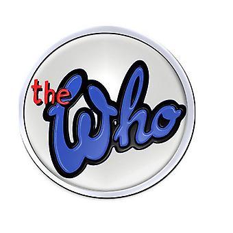 The Who band logo 73 nieuwe officiële collectable metalen revers speld Badge