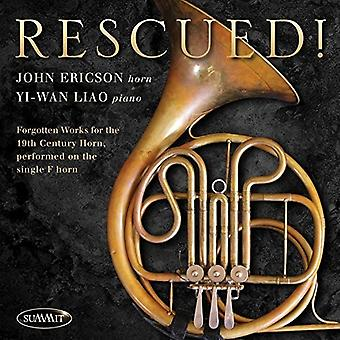 John Ericson - Rescued Forgotten Works for 19th Century Horn [CD] USA import