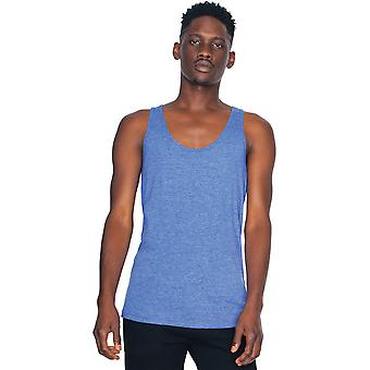 American Apparel Mens Triblend Polester Baumwolle leichtes Tanktop