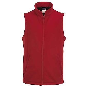 Russell Collection Mens Smart Breathable Softshell Gilet Bodywarmer Jacket