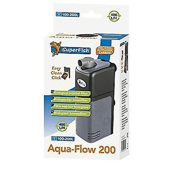Superfish Aqua-Flow 200 Fish Aquarium Internal Filter 400L/H