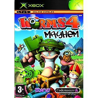 Worms 4 Mayhem (Xbox) - Nouveau