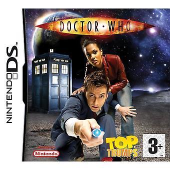Top Trumps Dr Who (Nintendo DS) - Fabrik versiegelt
