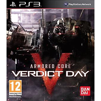 Armoured Core Verdict Day (PS3) - New