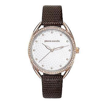 Pierre Cardin ladies watch wristwatch Drouot femme leather PC901872F04