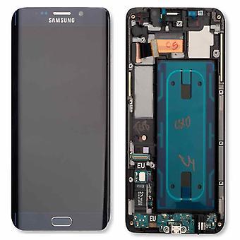 Ecran LCD complet set écran tactile GH97-17819 B noir pour Samsung Galaxy S6 bord plus G928F