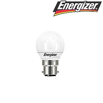 Energizer 5.9w = 40w LED Golfball Bayonet Cap (BC) Opal Extra Warm White - 2700k (S8838) [Energy Class A+]