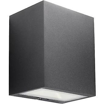 フィリップス照明 Ledino 17209/30/16 LED 屋外の壁ライト 3 W 暖かい白ブラック