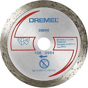 Dremel® DSM20 Diamond laatta leikkuupyörä (DSM540) Dremel 2615S540JA halkaisija 77 mm 1 PCs()