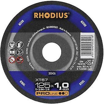 Rhodius XT67 205599 Cutting disc (straight) 115 mm 22.23 mm 1 pc(s)