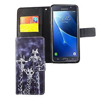 Telefon komórkowy case etui dla mobilnych Samsung Galaxy J7 2016 3 żyrafy