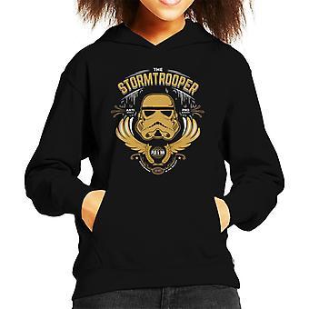 Original Stormtrooper Pub And Inn Kid's Hooded Sweatshirt