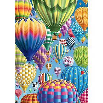 لغز البالونات الملونة شميت في بانوراما السماء (1000 قطعة)