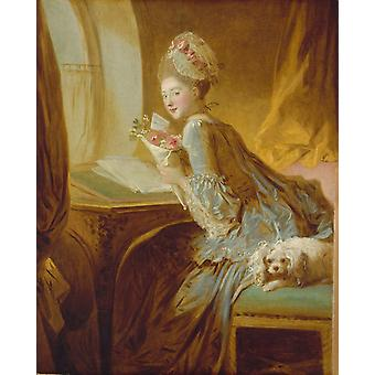 Recreation by our Gallery, Jean-Honore Fragonard, 50x40cm